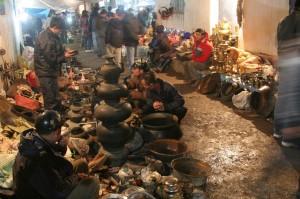 Một góc chợ Viềng