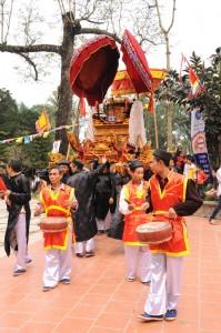 Lễ rước hội chùa Thầy