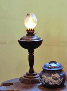 Một cây đèn dầu
