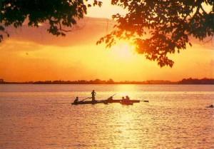 Hồ Tây buổi chiều