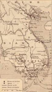 Bản đồ Việt Nam thời Pháp thuộc