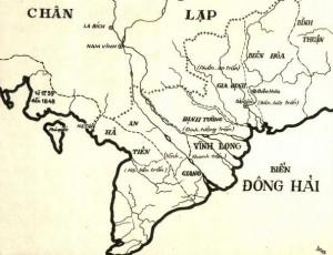Bản đồ Lục tỉnh năm 1808