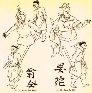 Rước ông Đùng bà Đà (tranh dân gian)