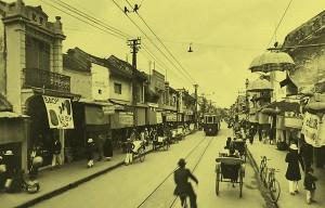 Phố Hàng Bông đầu thế kỉ 20