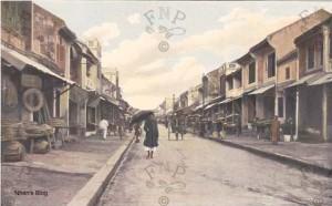 Đoạn chính của phố Hàng Nón đầu thế kỉ 20.