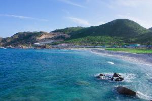 Bãi chướng trên đảo Bình Ba