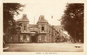 Ty Cảnh Sát Hà Nội thời Pháp thuộc, quen gọi là Bót Hàng Trống, nay là trụ sở Công An quận Hoàn Kiếm