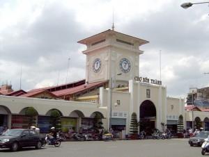 Chợ Bến Thành, một trong những biểu tượng của Sài Gòn