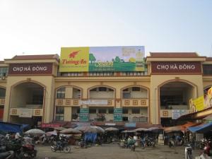 Chợ Hà Đông hiện nay