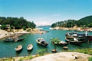 Phong cảnh cù lao Chàm