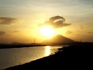 Núi Mò O buổi bình minh