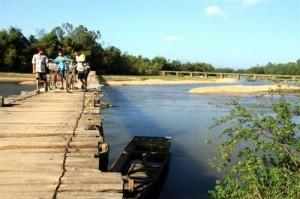 Một nhánh sông Côn, đoạn chảy qua An Nhơn