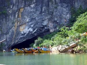 Vường quốc gia Phong Nha - Kẻ Bàng thuộc Quảng Bình