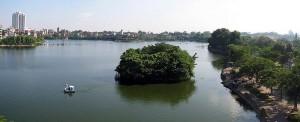 Hồ Trúc Bạch ngày nay