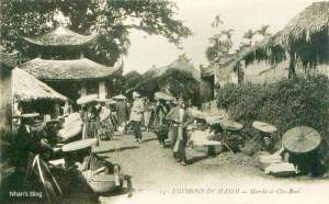 Chợ Bưởi ngày xưa