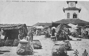 Chợ Đông Ba ngày trước