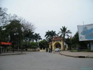 Cổng làng Đại Từ