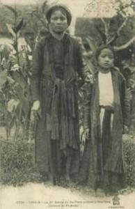 Bà Đặng Thị Nhu và con gái