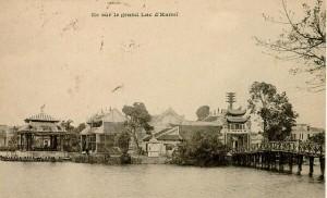 Đền Ngọc Sơn hồi đầu thế kỉ XX