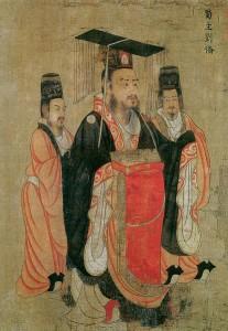 Lưu Bị qua nét vẽ của Diêm Lập Bản, họa sĩ thời nhà Đường