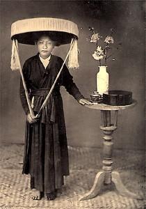Chiếc nón quai thao ngày xưa