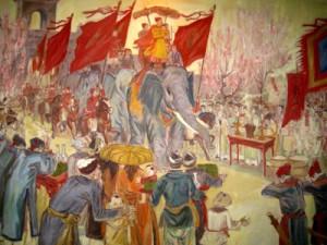 Quang Trung tiến quân ra Bắc