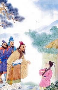 Một minh họa về Tam cố thảo lư