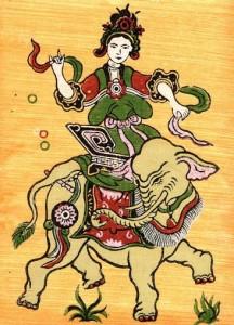 Bà Triệu (tranh Đông Hồ)