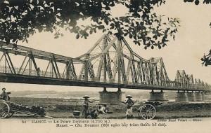 Cầu Long Biên hồi đầu thế kỉ XX