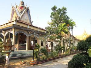 Chùa Kompong Ksan tại Trà Vinh