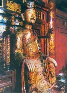Tượng Đinh Tiên Hoàng ở Hoa Lư