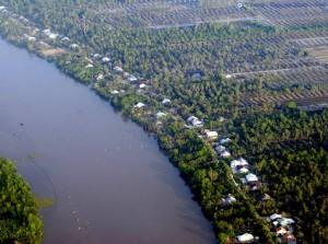 Sông Cái Lớn đoạn chảy qua Gò Quao