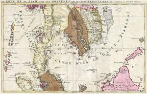 Xứ Đàng Trong (Cochinchine) với quần đảo Hoàng Sa (Isles Pracel), trong bản đồ của Joachim Ottens, năm 1710