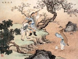 Diễm Tử tìm sữa hươu cho cha mẹ