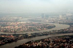 Một đoạn sông Sài Gòn (Bến Nghé) ngày nay