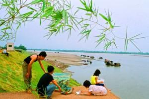 Phong cảnh làng Cổ Đô