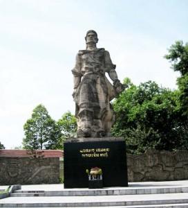 Tượng đài Nguyễn Huệ ở gò Đống Đa
