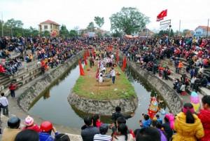 Lễ hội kéo song ở Hương Canh