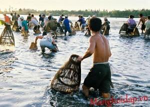 Hội đánh cá làng Me