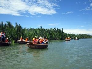 Rừng dừa Bảy Mẫu ở Cẩm Thanh