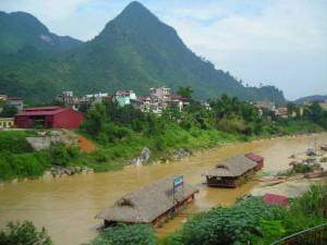 Sông Lô đoạn chảy qua Hà Giang
