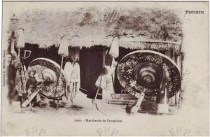 Một cửa hàng trên phố Hàng Lọng xưa