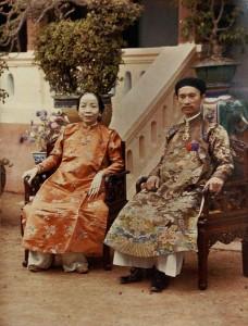 Vợ chồng Tổng đốc tỉnh Hà Đông ngày trước