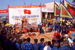 Lễ khao lề thế lính ở đảo Lý Sơn