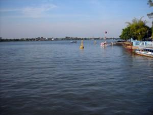 Sông Cổ chiên đoạn chảy qua Vĩnh Long