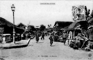 Chợ Bà Điểm đầu thế kỉ 20