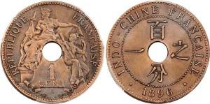 Đồng một xu Đông Dương năm 1896