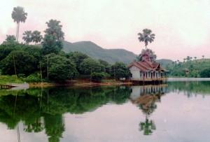 Cảnh đẹp đầm Ao Châu (Hạ Hòa, Phú Thọ)