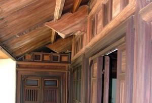 Kết cấu nhà lá mái