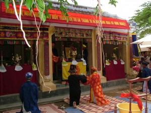 Lễ cúng tổ nghề gốm ở Nam Diêu
